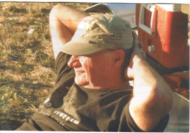 Steve Muffin Relaxing