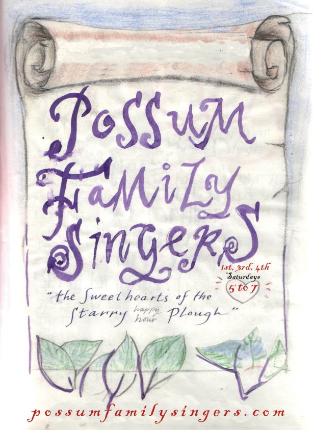 Possum Family.poster cleaner copy
