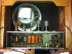 Fender Harvard amp needs a tube